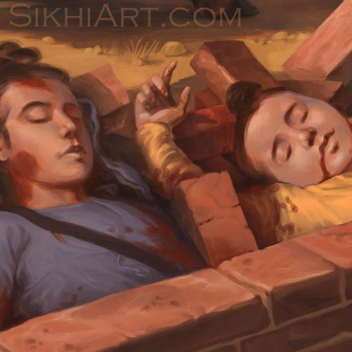 Chotte Sahibzadey, Zoravar Singh, Fateh Singh, Zorawar Singh, Guru Gobind Singh