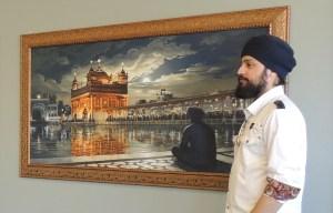 Bhagat Singh Artist, Exhibition, Sikhi Art, Golden Temple, Harmandir Sahib, Punjab, Amritsar, India, Sikh Painting
