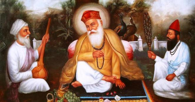 Gurpurab: In the story of Guru Nanak and his companion Bhai Mardan ...