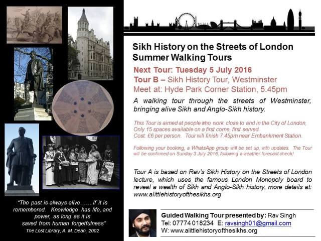 Sikh history walking tour