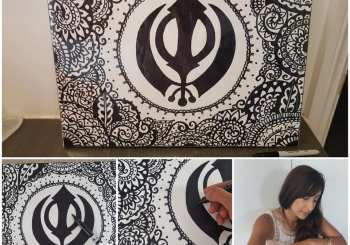 Amandeep Kaur-Canvassing Sikh Art