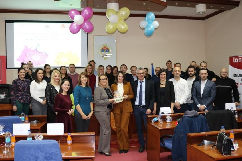 Mrkonjić Grad: Promocija rezultata Omladinske banke za 2019. godinu