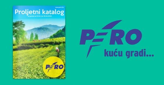 "Prelistajte proljetni katalog – ""PERO""!"