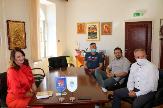 """Mrkonjić Grad: Načelnica upriličila prijem za novog trenera KK """"Mladost"""" Žarka Milakovića"""
