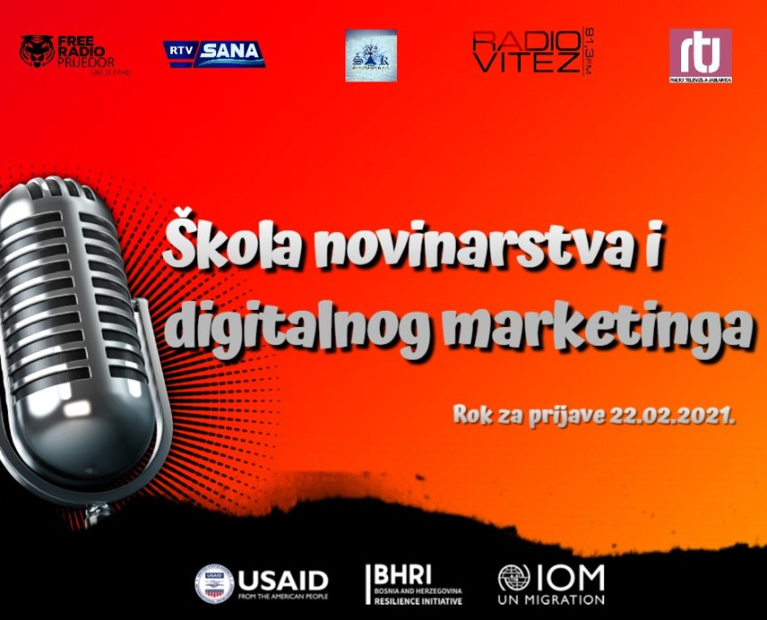 Škola novinarstva i digitalnog marketinga 2021