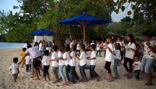 Villagers choir