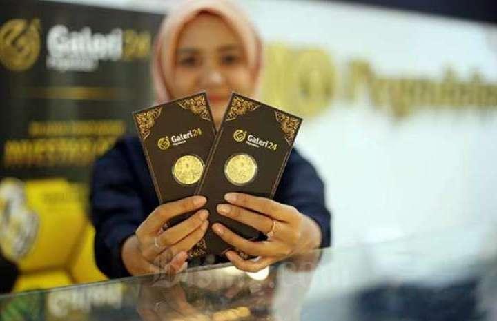 Harga Emas UBS dan Antam 'Turun', Jum'at 24 September 2021