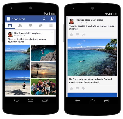 FB Android Collage