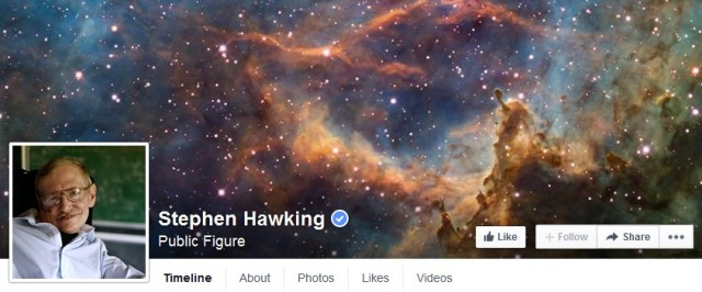 FB Stephen Hawking