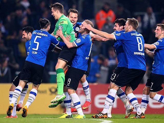 Arminia Bielefeld Klub Divisi Tiga, Tembus Semifinal DFB Pokal 2015!