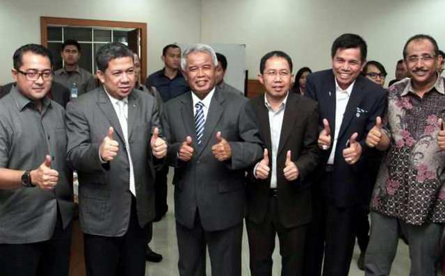 BOPI DPR Fahri Hamzah PT Liga Indonesia PSSI Kemenpora