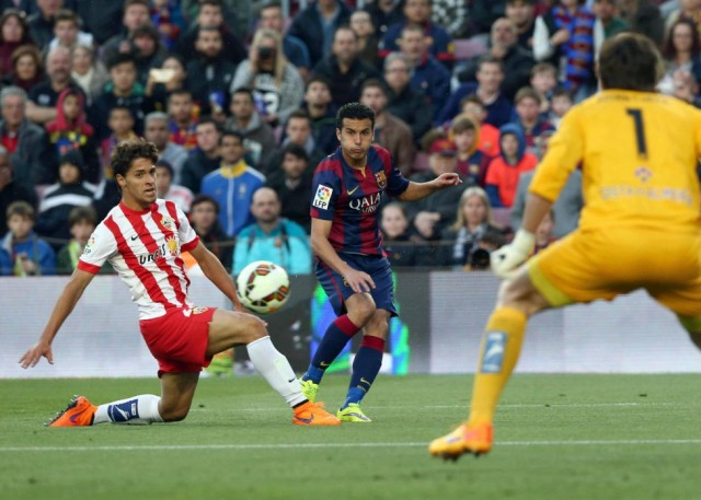 Barcelona vs Almeria 2