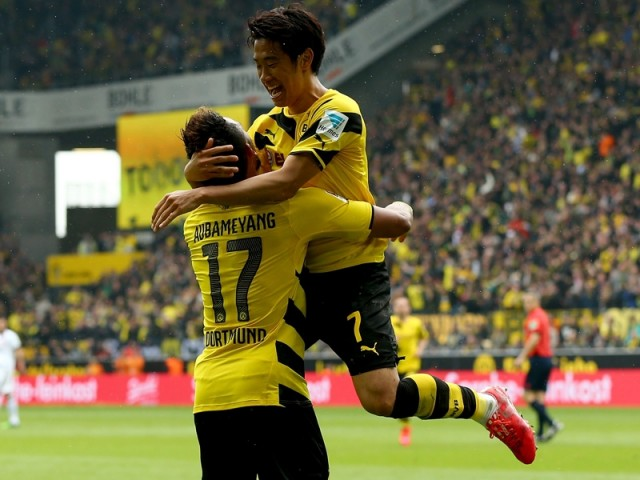 Borussia Dortmund vs Eintracht Frankfurt 3