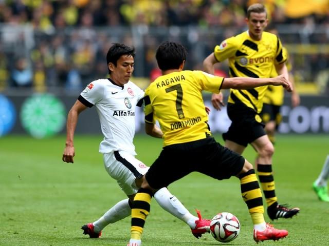 Borussia Dortmund vs Eintracht Frankfurt 4