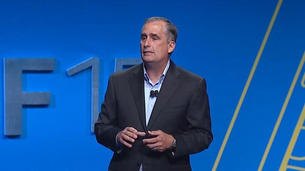 CEO Intel, Brian Krzanich