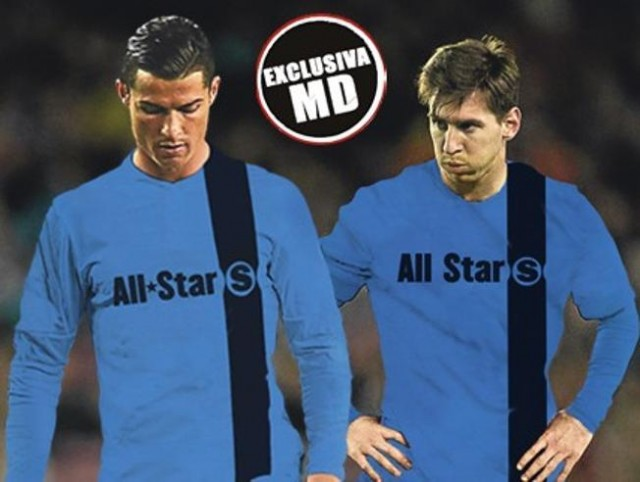 Cristiano Ronaldo & Lionel Messi Bakal Main Satu Tim di Laga All Stars UEFA