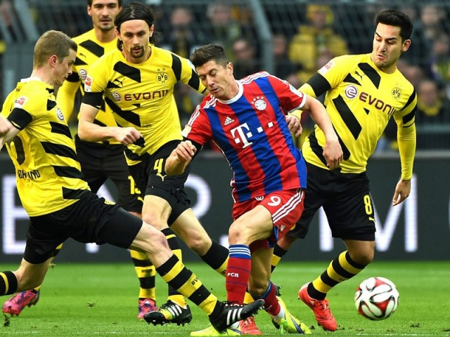 Dortmund vs Bayern 1
