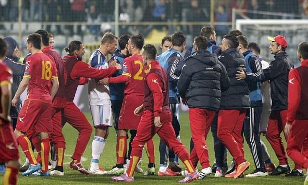 Montenegro vs Rusia