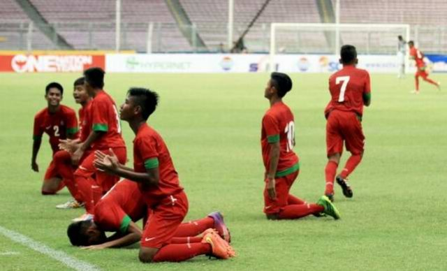 Timnas Indonesia U16 u17 u18 u19 gol