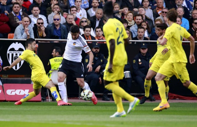 Valencia vs Villarreal 4