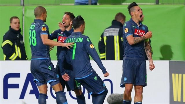 Wolfsburg vs Napoli 1