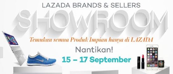 Lazada Showroom Event 2015