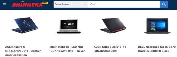 Harga Laptop Gaming Murah Notebook Gaming Terbaik