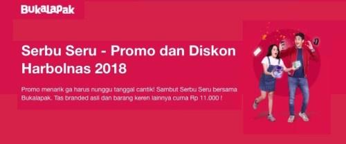 Promo Diskon Harbolnas 2018 Bukalapak