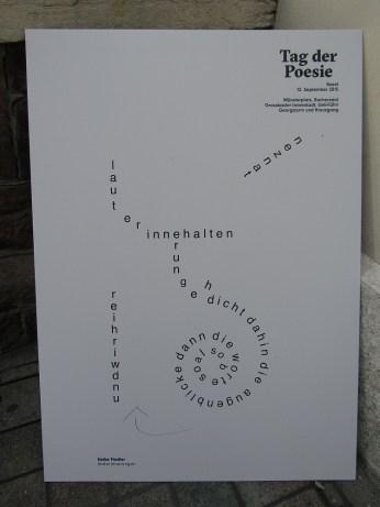 Tag der Poesie Gedicht 3