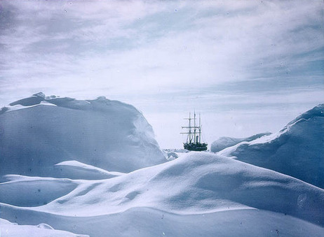 Early Color Photos from Antarctica