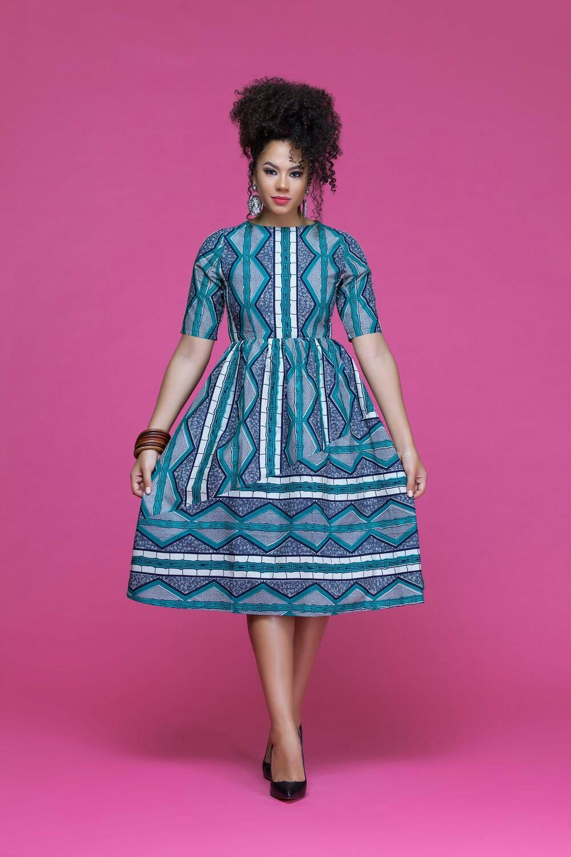 20 jolies modèles de robes en pagne | Silence Brisé
