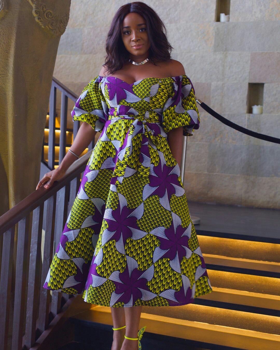 20 jolies modèles de robes en pagne Blog Mode et Lifestyle (7) - Silence Brisé