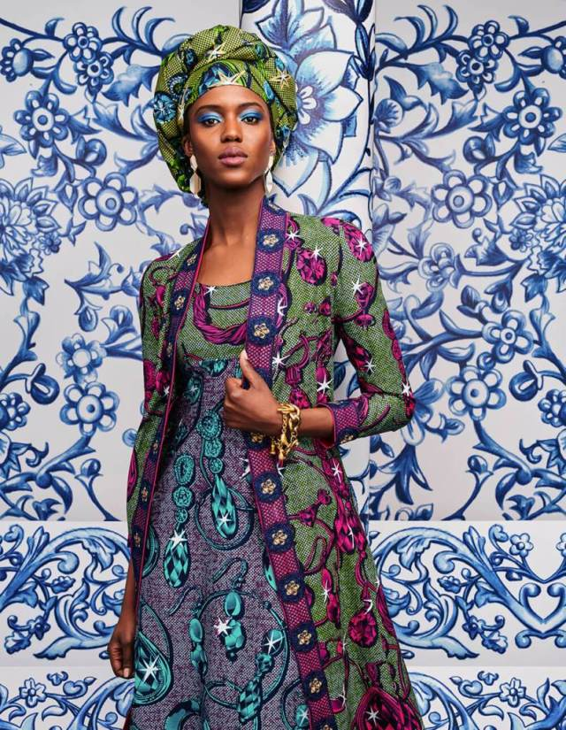 La nouvelle collection : Unique nature By Vlisco