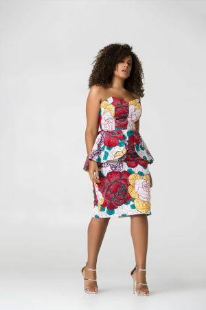 20 jolies robes en pagne de chez Grass-fields #Ankaradress #ootd #tenueenpagne #Blogmode #Togo #bloggeusetogolaise