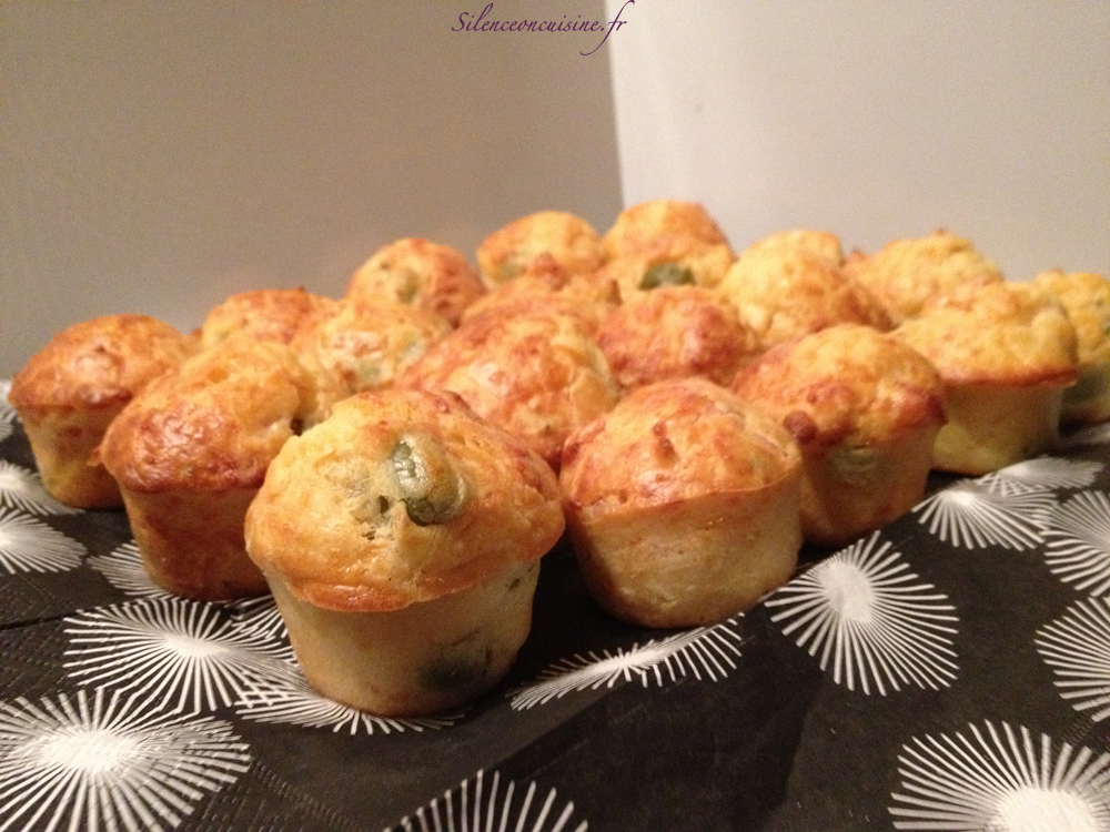 Muffins Poulet Olives Silence On Cuisine