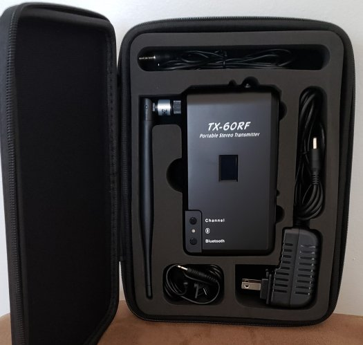 Silent Disco Transmitter TX 60RF