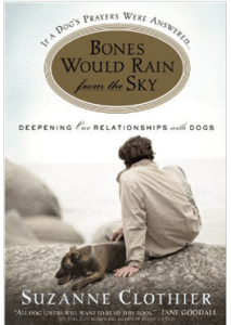 Suzzanne Clothier, book, dogs, relationship, Bones would Rain from the Sky