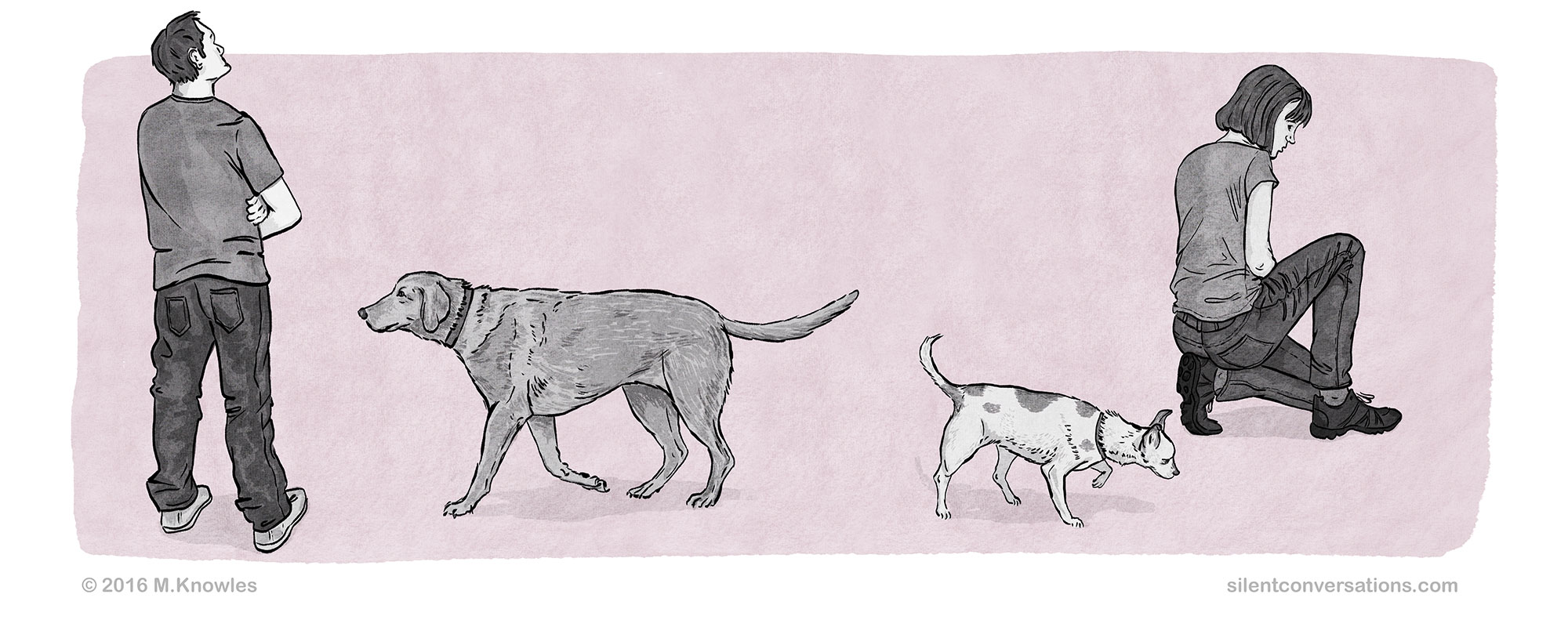 How to greet a dog politely, dog greeting