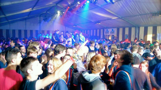 silent disco studentenfeest