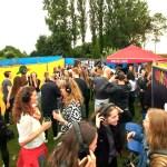 Silent Disco huren op festival