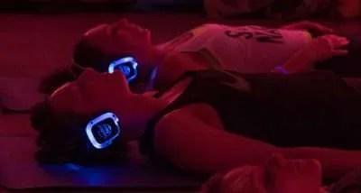 Silent Disco Yoga Headphones