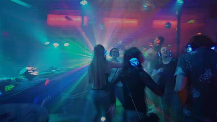 brble studenten silent disco