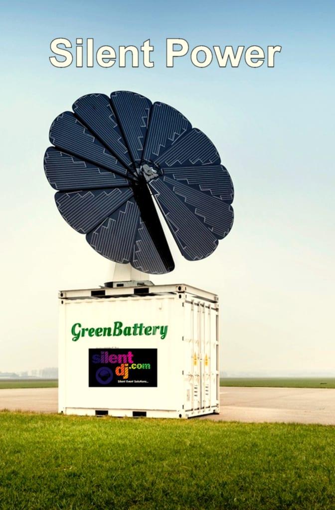 Silent Green Power Battery