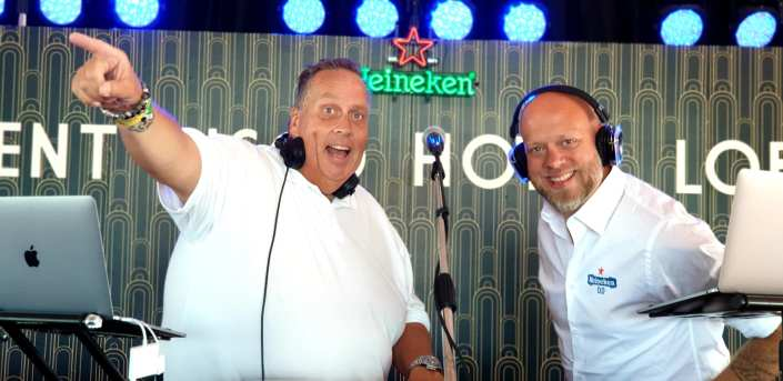 DJ team Rene en Michael