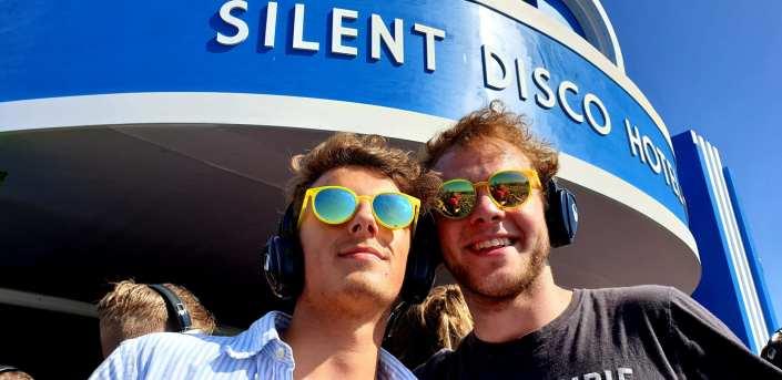 silent Disco Beach Hotel