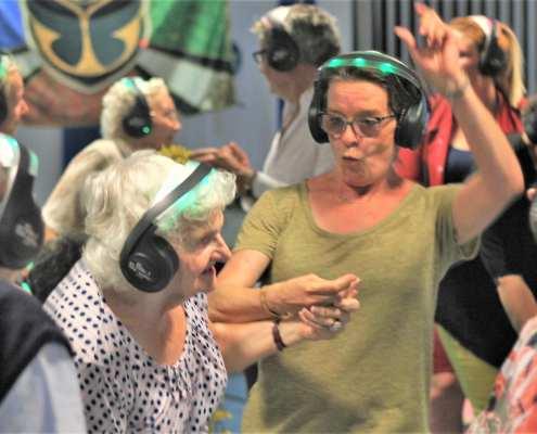 geluksmomentje silentdisco senioren dementie