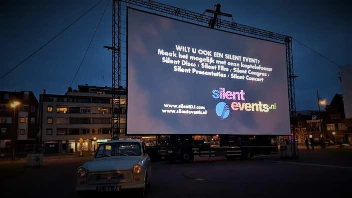 silent bioscoop screen