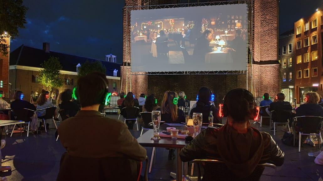 silent open air bioscoop lux