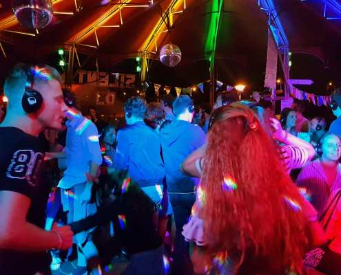 Silent disco 4daagse donderdag 20 juli 2017 Nijmegen | SilentDJ.com | Foto en video verslag Nijmeegse zomerfeesten
