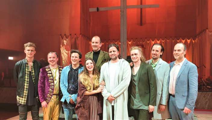 Jezus Christ Superstar cast musical